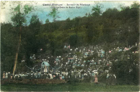 carte postale pélerinage 1915 1